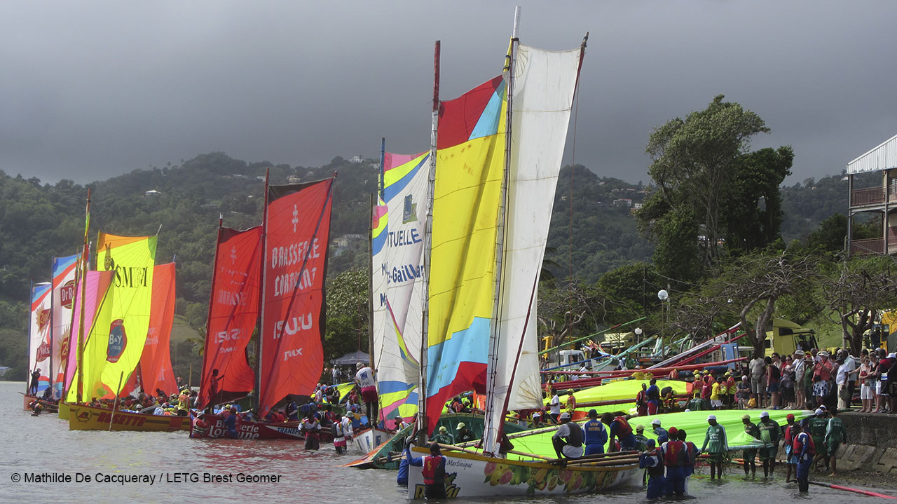 Voile traditionnelle, Le Robert, Martinique, 2013